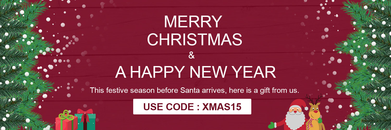 Christmas 15% Discount All Products