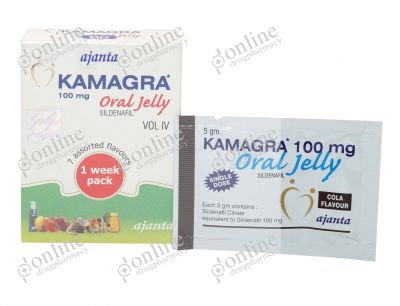 Kamagra Oral Jelly-Front-view
