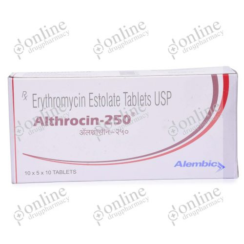 Althrocin 250 mg-Front-view