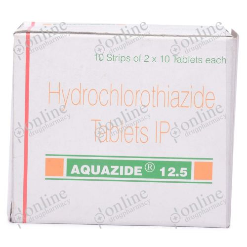 Aquazide 12.5 mg-Front-view