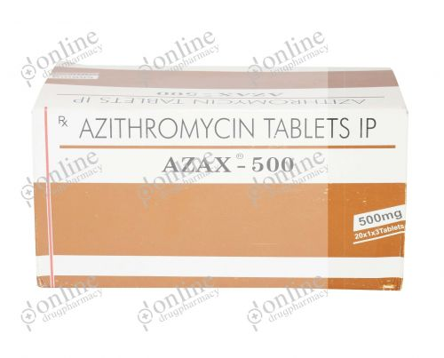 Azax 500 mg-Front-view