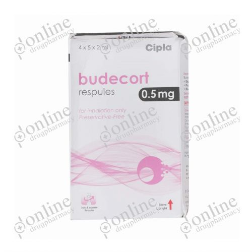 Budecort Respules - 0.5mg/2ml-Front-view