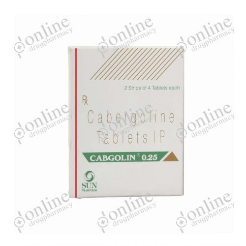 Cabgolin - 0.25mg-Front-view