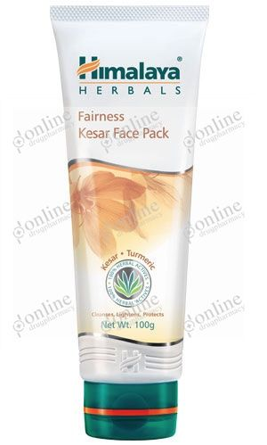 Fairness Kesar Face Pack 50gm-front-view