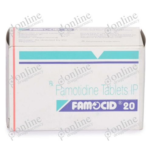 Famocid 20 mg-Front-view