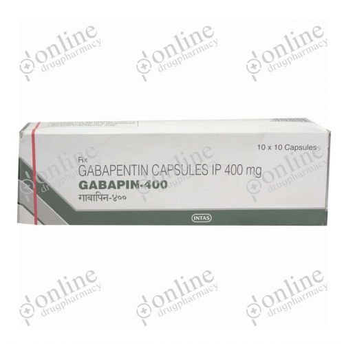 Gabapin - 400mg-Front-view
