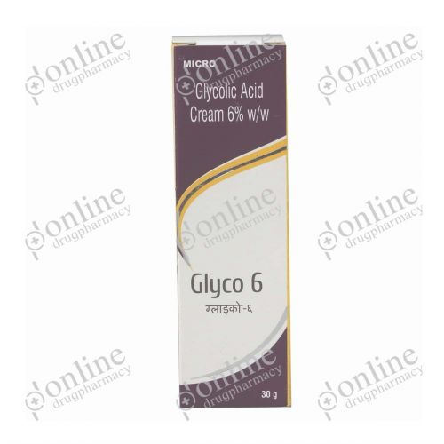 Glyco Cream - 6% (30gm)-Front-view