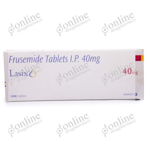 Lasix 40 mg-Front-view