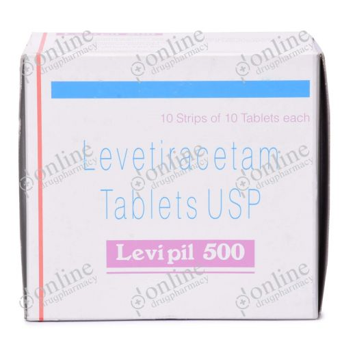 Levipil 500 mg-Front-view