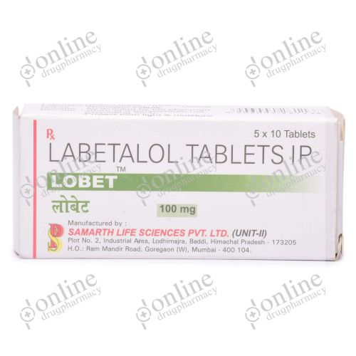 Lobet 100 mg-Front-view
