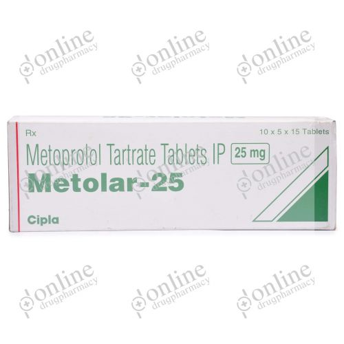 Metolar 25 mg-Front-view