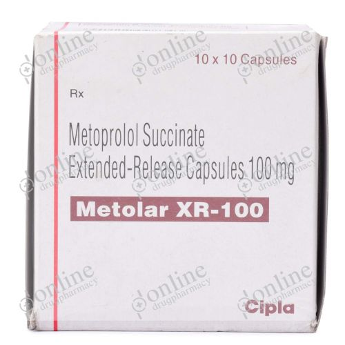 Metolar XR 100 mg-Front-view
