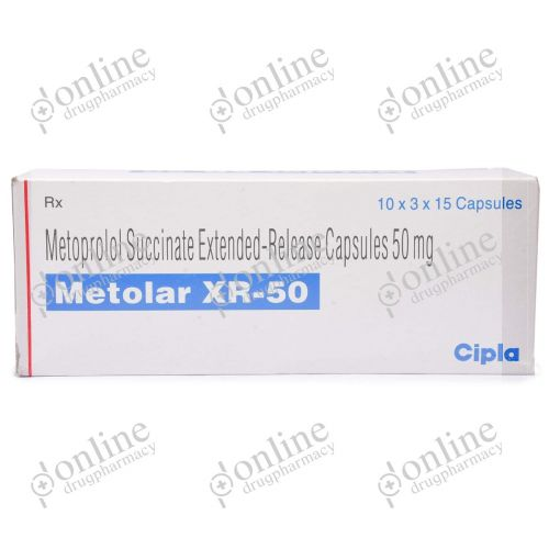 Metolar XR 50 mg-Front-view