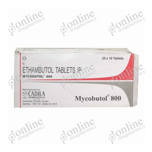 Mycobutol - 800mg-Front-view
