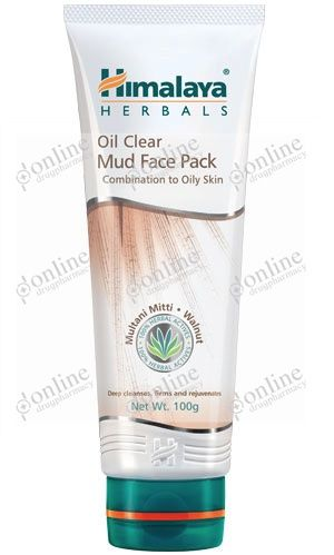 Oil Clear Mud Face Pack 50gm-front-view