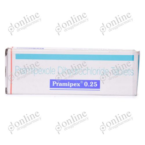 Pramipex 0.25 mg-Front-view
