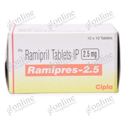 Ramipres 2.5 mg-Front-view