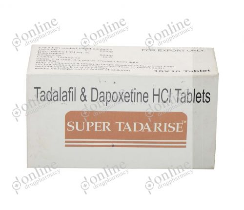 Super Tadarise 20 mg-Front-view