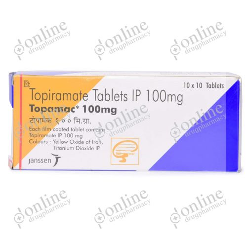 Topamac 100 mg-Front-view