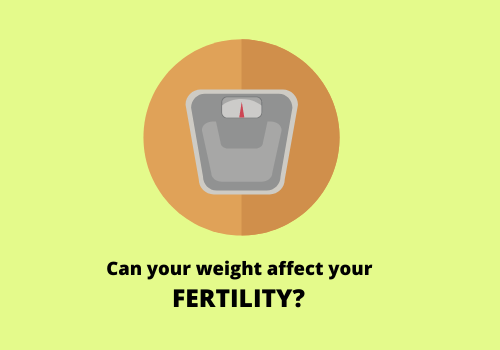Your weight might determine your fertility or infertility